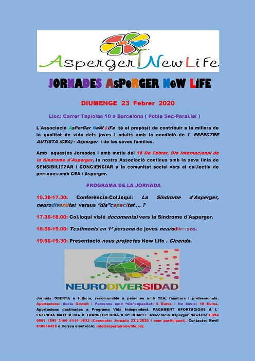Jornada al barri Asperger New Life